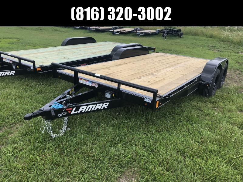 2019 LAMAR 83X16 EQUIPMENT TRAILER