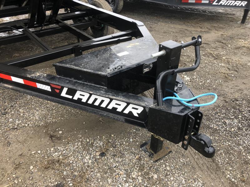 2019 LAMAR 83X14 BUMPER DUMP LOPRO TRAILER