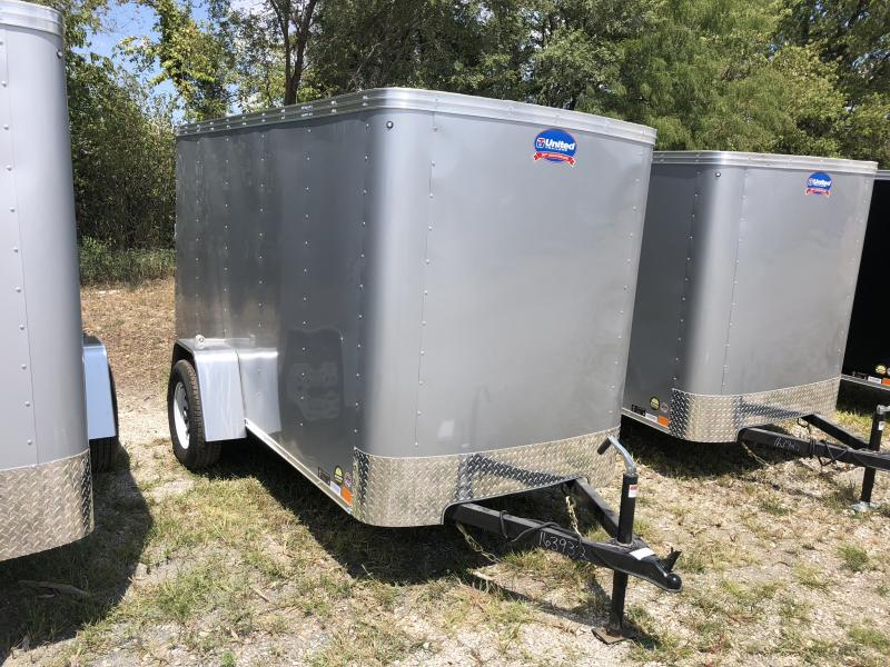 2018 UNITED 5 X 10 X 5 ENCLOSED CARGO TRAILER