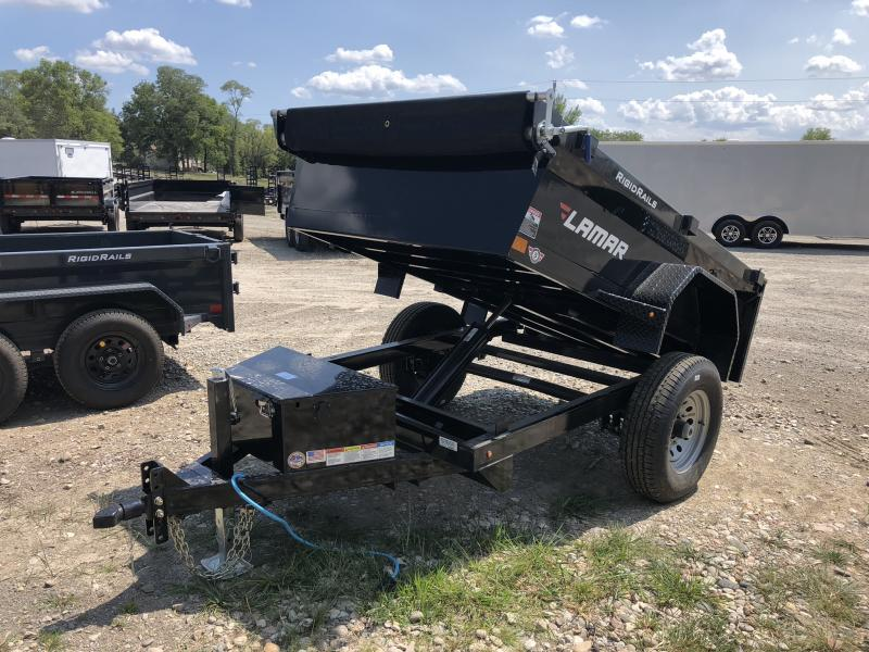 2018 LAMAR 60 X 8 MINI DUMP TRAILER in Cainsville, MO