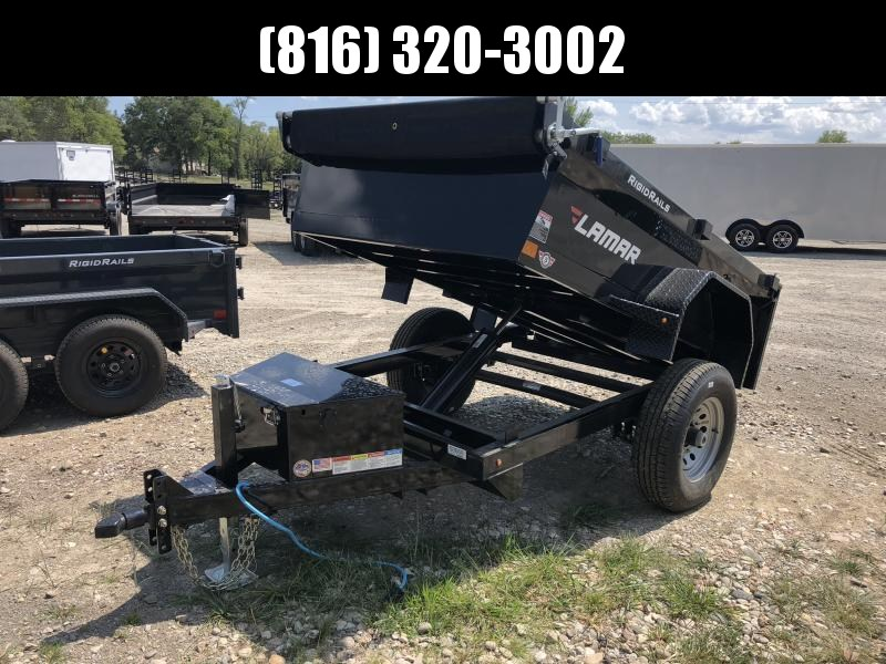 2018 LAMAR 60 X 8 MINI DUMP TRAILER in Ashburn, VA