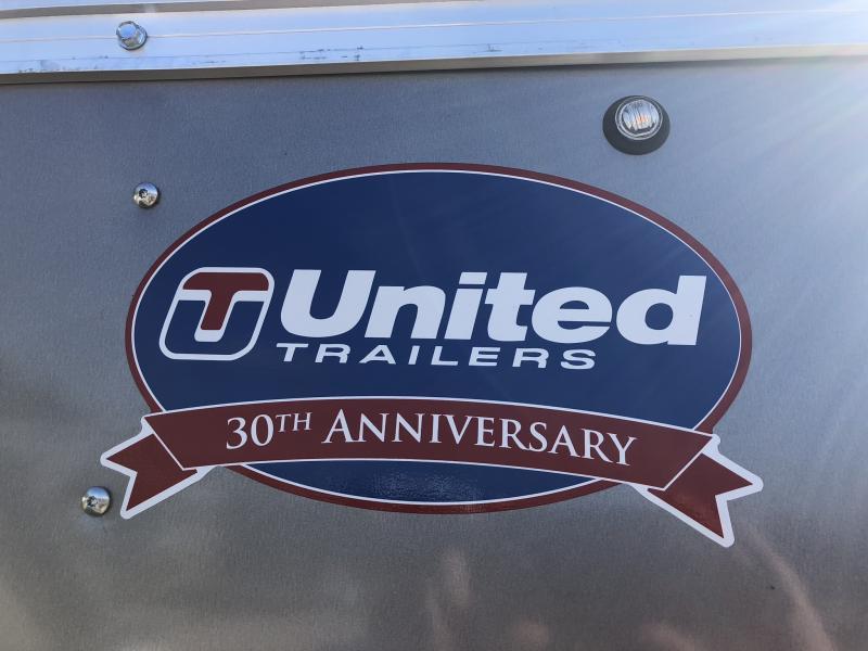 2019 UNITED 7 X 12 X 6 ENCLOSED CARGO TRAILER