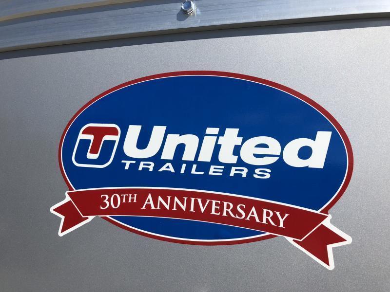 2019 UNITED 5 X 10 X 5 ENCLOSED CARGO TRAILER