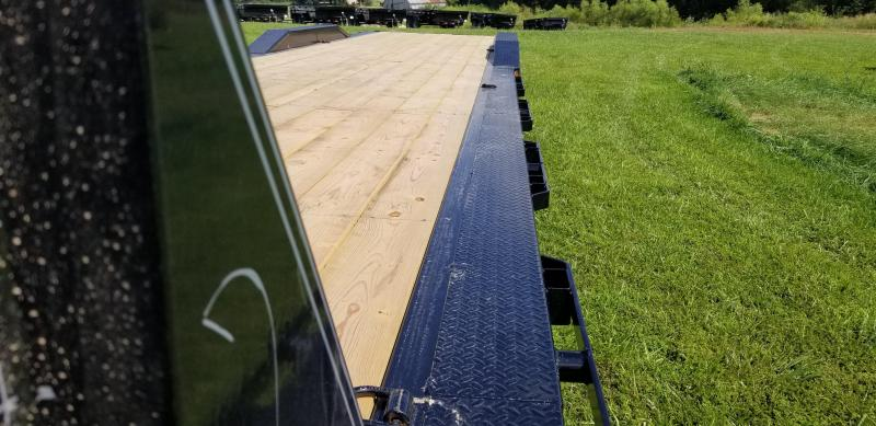 2019 IRON BULL 102 X 44 GOOSENECK DRIVE OVER FENDERS EQUIPMENT HAULER TRAILER