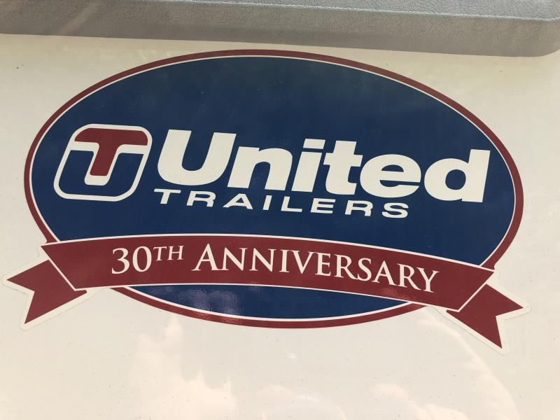 2018 UNITED 6 X 14 X 6 ENCLOSED CARGO TRAILER