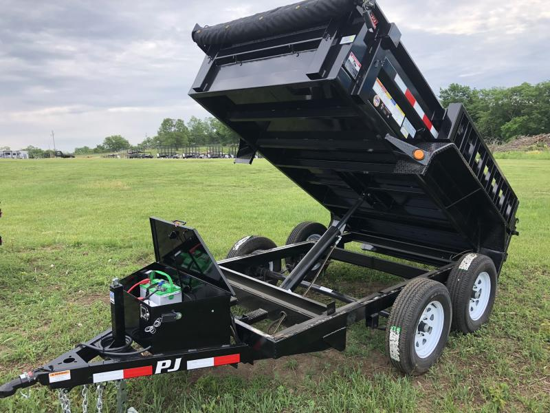 2018 PJ TRAILERS 60X10 MINI DUMP TRAILER in Dawn, MO