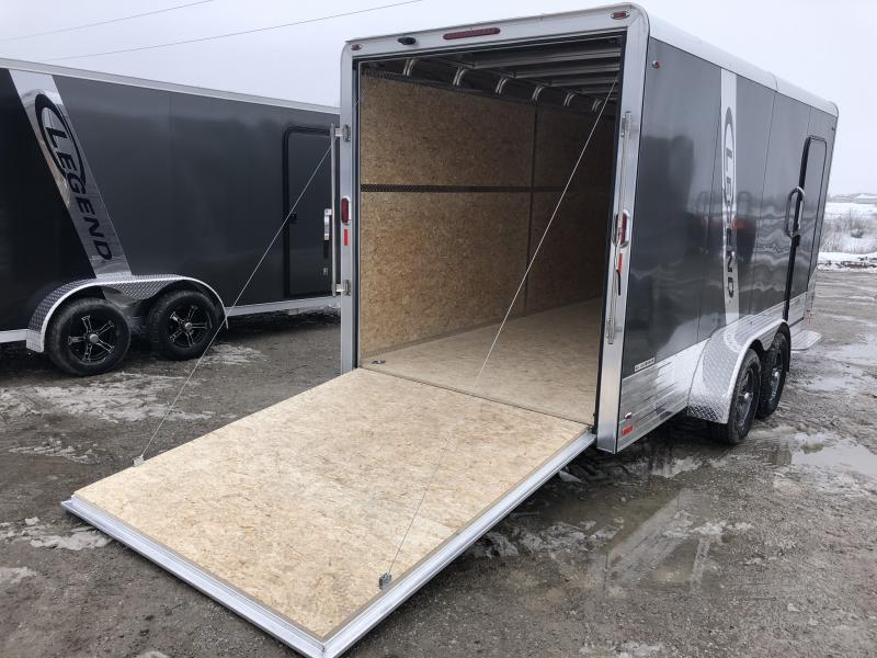 2019 LEGEND 7 X 19 X 6.5 ALL ALUMINUM CARGO TRAILER WITH TORSION AXLES