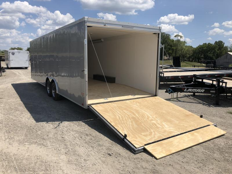 2018 UNITED 8.5 X 28 X 6.5 ENCLOSED RACE CAR CARGO TRAILER
