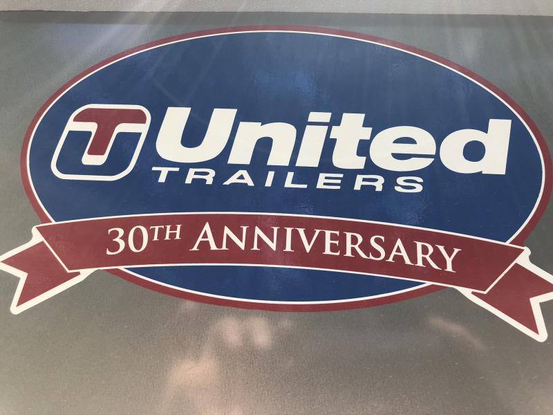 2018 UNITED 7 X 16 X 6 ENCLOSED CARGO TRAILER