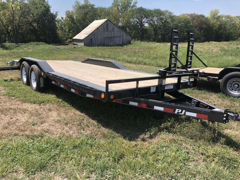 2019 PJ TRAILERS 102X20 SUPER-WIDE EQUIPMENT HAULER TRAILER