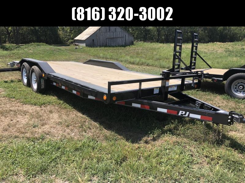 2019 PJ TRAILERS 102X20 SUPER-WIDE EQUIPMENT HAULER TRAILER in Ashburn, VA