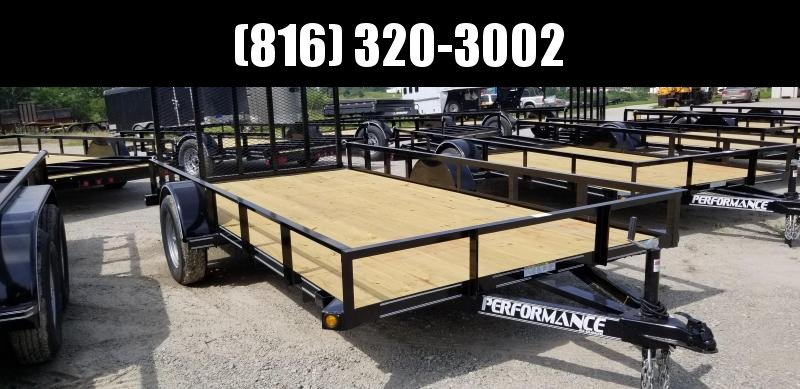 2019 PERFORMANCE 83 x 14 UTILITY TRAILER