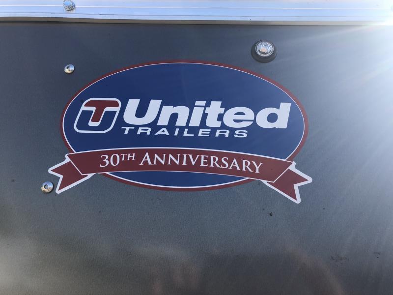 2019 UNITED 7 X 12 X 7 ENCLOSED CARGO TRAILER