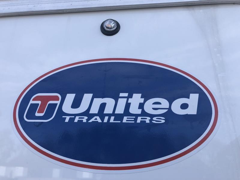 2019 UNITED 6 X 10 X 6 ENCLOSED CARGO TRAILER