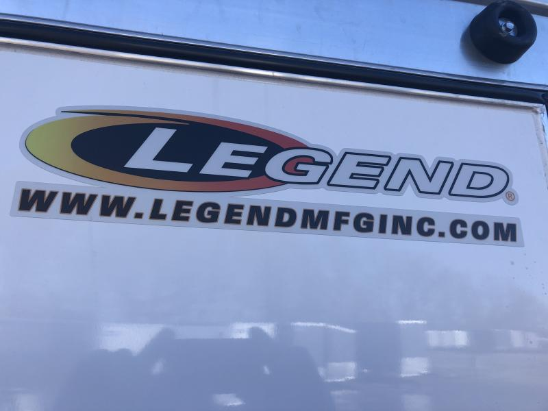 2019 LEGEND 7 X 17 X 6.5 CARGO TRAILER WITH TORSION AXLES
