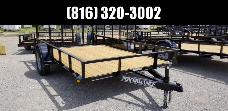 2019 PERFORMANCE 83 x 14 UTILITY TRAILER WITH 2' DOVE TAIL