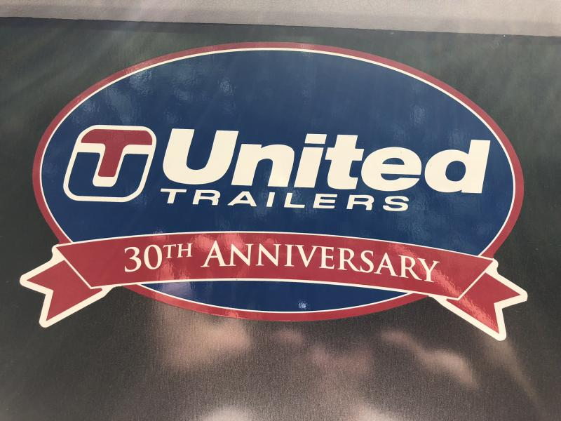 2018 UNITED 6 X 10 X 6 ENCLOSED CARGO TRAILER