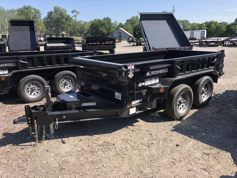 2018 IRON BULL 60 X 10 MINI DUMP TRAILER in Cainsville, MO