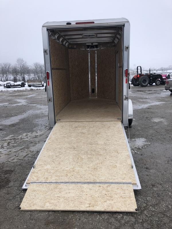 2019 LEGEND 6 X 13 X 6.5 ALL ALUMINUM CARGO TRAILER WITH TORSION AXLE