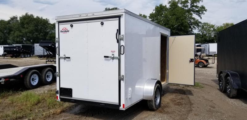 2020 Rock Solid Cargo 6 X 12 X 6 CARGO Enclosed Cargo Trailer
