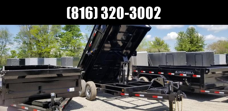 2019 IRON BULL 83X14 DUMP TRAILER