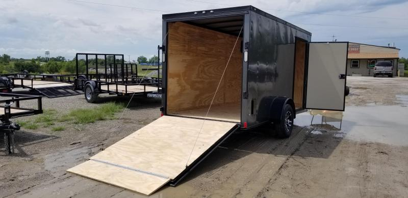 2020 Rock Solid Cargo 6 X 12 X 6 Enclosed Cargo Trailer