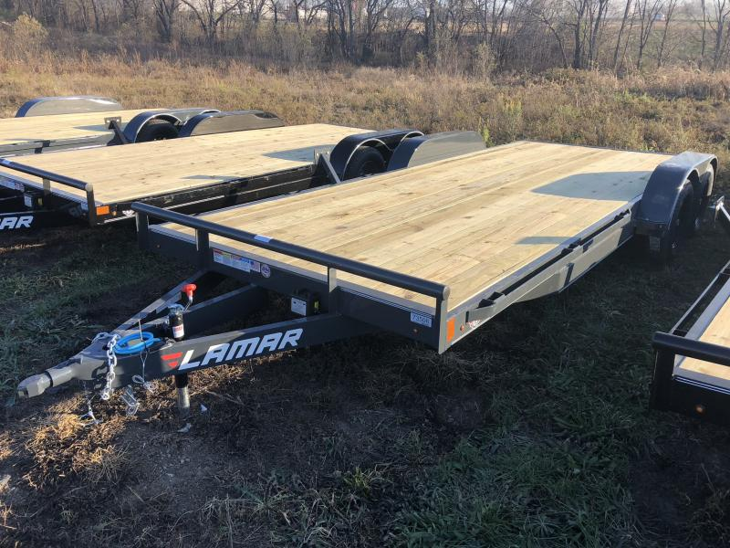 2019 LAMAR 83 x 20 EQUIPMENT HAULER TRAILER