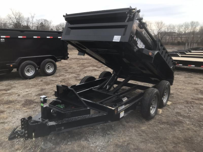 2018 IRON BULL 60X10 MINI BUMPER DUMP TRAILER