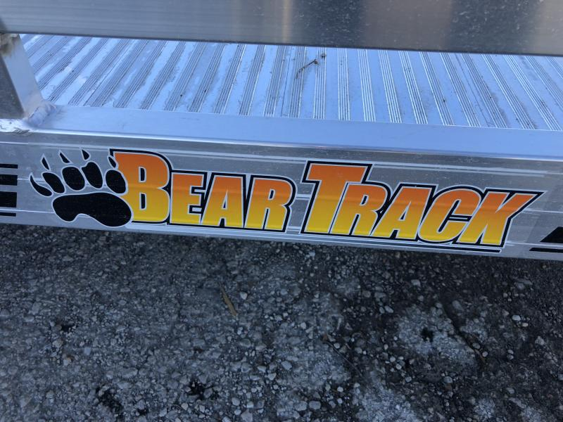 2019 BEAR TRACK 81 X 17 ALL ALUMINUM TILT UTILITY TRAILER