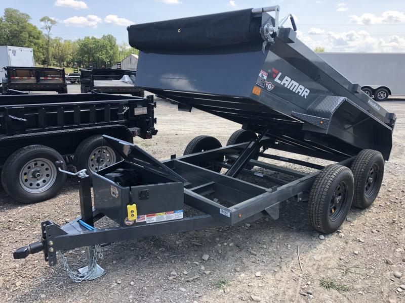 2018 LAMAR 60 X 10 MINI DUMP TRAILER in Cainsville, MO