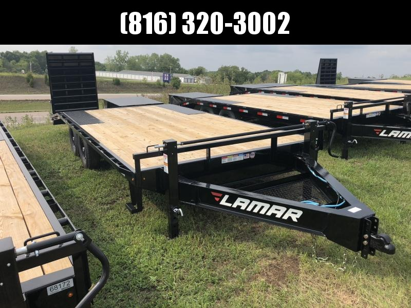 2018 LAMAR 102 X 20 DECK OVER FLATBED TRAILER in Ashburn, VA
