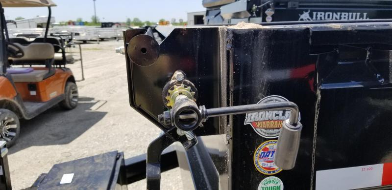 2019 IRON BULL 83X16 BUMPER DUMP TRAILER