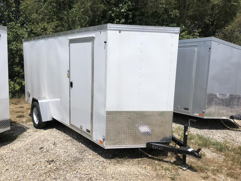 2018 UNITED 6 X 14 X 6 ENCLOSED CARGO TRAILER