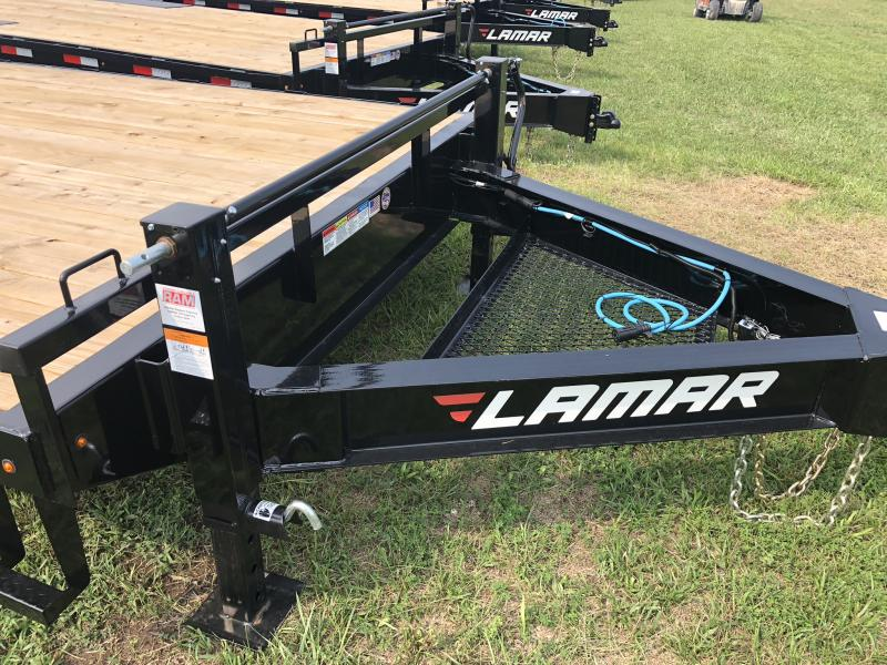 2018 LAMAR 102 X 24 DECK OVER FLATBED TRAILER