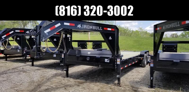 2019 IRON BULL 83 X 24 Gooseneck Equipment Trailer