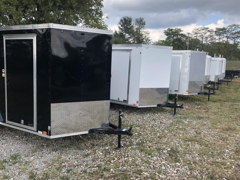 2019 UNITED 7 X 14 X 6.5 ENCLOSED CARGO TRAILER
