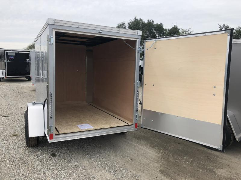 2019 UNITED 5 X 8 X 5 ENCLOSED CARGO TRAILER