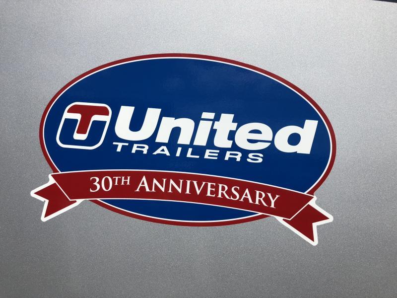 2019 UNITED 5 X 8 X 5 ENCLOSED CARGO TRAILER