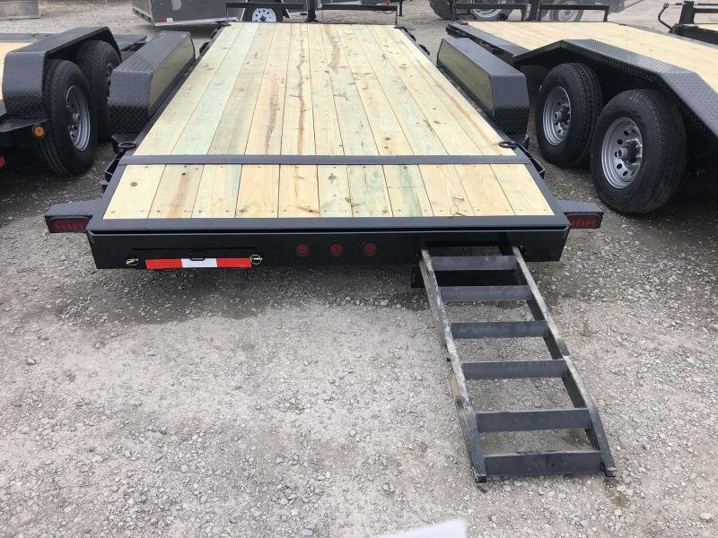 2019 IRON BULL 83X18 EQUIPMENT HAULER TRAILER