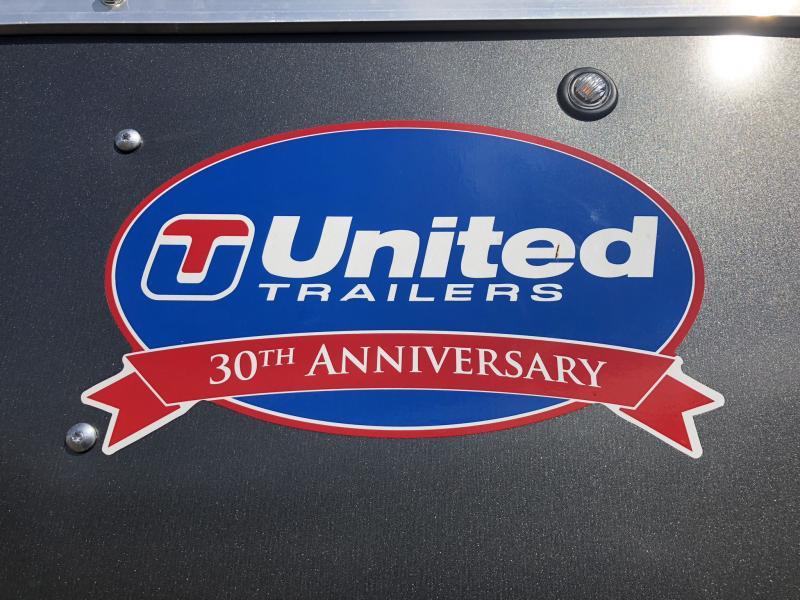 2019 UNITED 7 X 16 X 6.5 ENCLOSED CARGO TRAILER