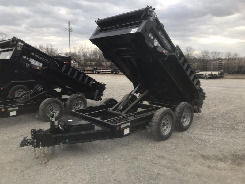 2018 IRON BULL 60X10 BUMPER DUMP TRAILER