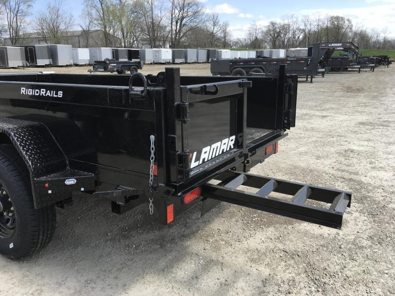2019 LAMAR 60 X 10 MINI DUMP TRAILER