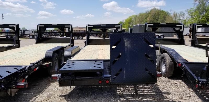 2019 IRON BULL 83 X 20 Gooseneck Equipment Trailer