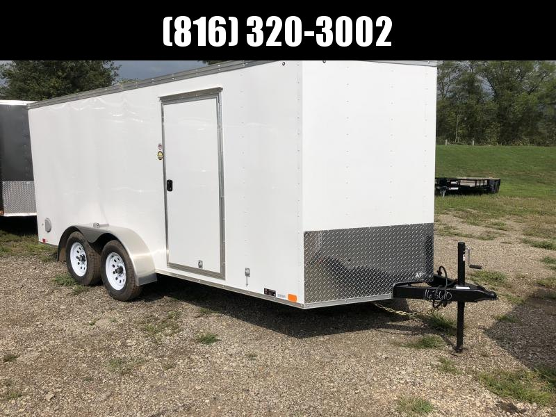 2019 UNITED 7 X 16 X 6 ENCLOSED CARGO TRAILER