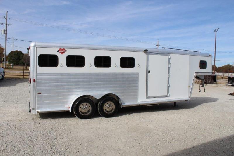2001 Hart 4 horse slant gooseneck