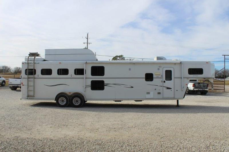 2007 Trails West 4 horse with 12' Living Quarter in Ashburn, VA