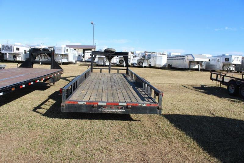 2012 Texas Bragg Trailers Utility Flatbed Trailer