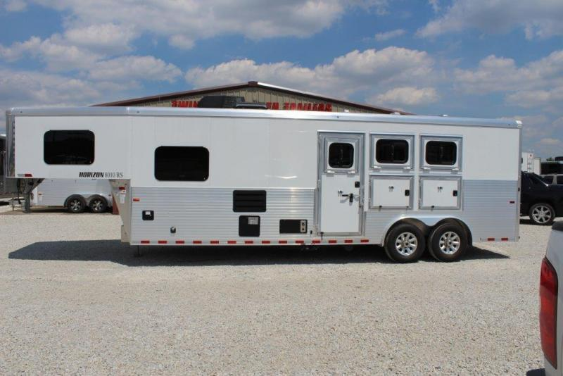 2018 Sundowner Trailers Horizon Horse Trailer