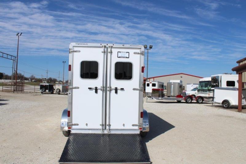 2019 Featherlite 2 horse straight load bumper pull