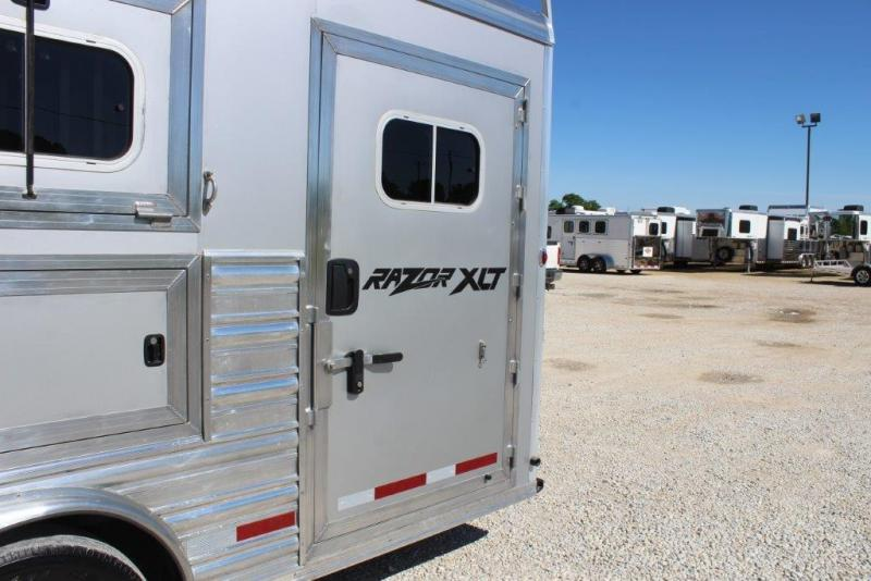 2012 Logan 4 horse with 12' LQ with Slide Out
